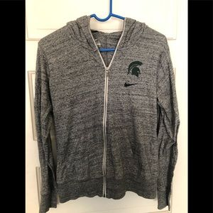 Women's Nike Spartans zip up jacket